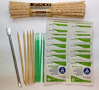 Pax 2, Kandy, Pipe Cleaning Kit-Wipes, Scraper Tool and Pipe Cleaners