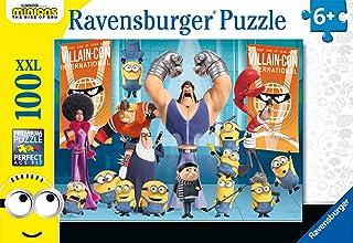 Ravensburger Kinderpuzzle - 12915 Gru und die Minions - Minions-Puzzle für Kinder ab 6 Jahren, mit 100 Teilen im XXL-Format