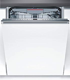 Bosch Serie 4 SME46MX23E lavavajilla Totalmente integrado 14 cubiertos A++ - Lavavajillas (Totalmente integrado, Tamaño completo (60 cm), Blanco, Acero inoxidable, Botones, 1,75 m)