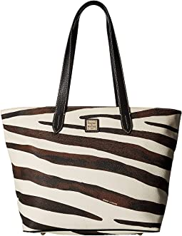 Dooney & Bourke - Serengeti Large Zip Shopper