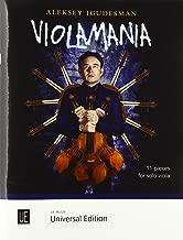 Violamania: 11 pieces for solo viola