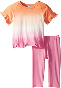 Dip-Dye Open Back Top Set (Toddler)
