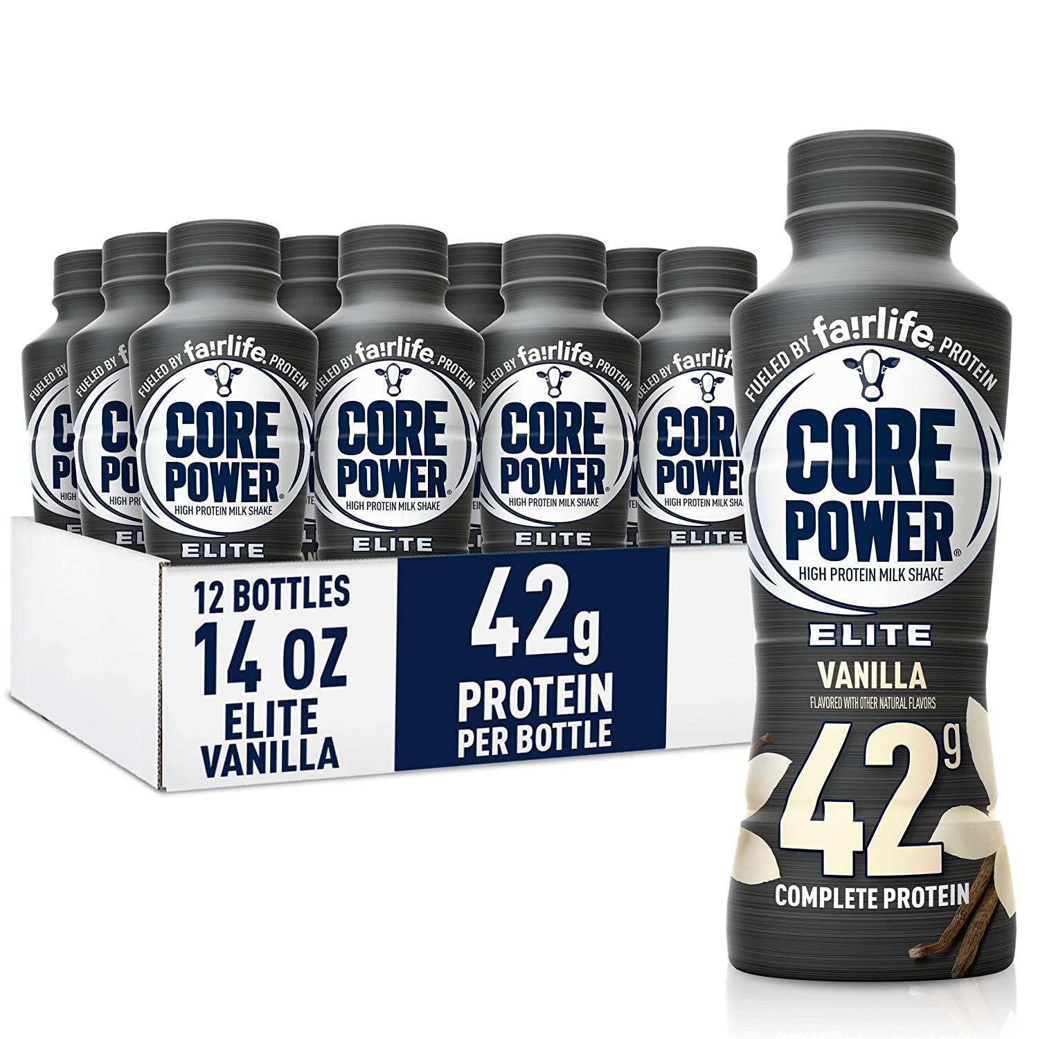 Fairlife Core Power Elite Fees free High Rea Protein Clearance SALE! Limited time! 42g Shake Vanilla