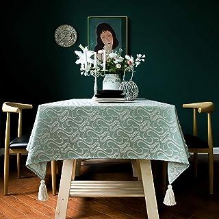 BKPH Nappes ImpriméEs éLéGantes de Style Chinois, Nappe de Table en Linge de Table Lavable et Lavable Nappe de Table pour ...