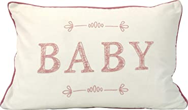 "Urban Loft by Westex Typo Baby Polyester Filled Decorative Throw Pillow Cushion, 14"" x 20"""