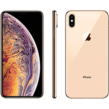 Apple iPhone Xs Max, 64GB, Gold - For Sprint (Renewed)
