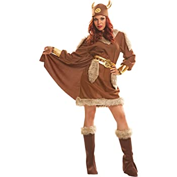 My Other Me Me-201212 Disfraz de vikinga para mujer, S (Viving ...