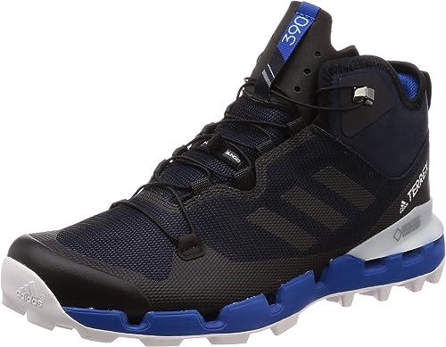 adidas Herren Terrex Fast Mid GTX-Surround Trekking- & Wanderstiefel, Schwarz