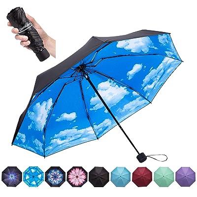 Goothdurs Travel Mini Umbrella