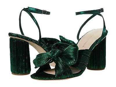 Loeffler Randall Camellia Knot Mule (Emerald) Women