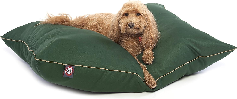 Majestic Pet 28Inchx35Inch Super Value Pet Bed, Medium, Green