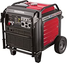 Honda EU7000iAT1 7000 Watt 120/240 Volt Super Quiet Portable Electric Generator