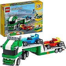 کیت ساختمانی LEGO Creator 3in1 Race Car Transporter 31113؛ یک هدیه عالی برای کودکانی که عاشق اسباب بازی های سرگرم کننده و ساختمان خلاقانه هستند ، جدید 2021 (328 قطعه)