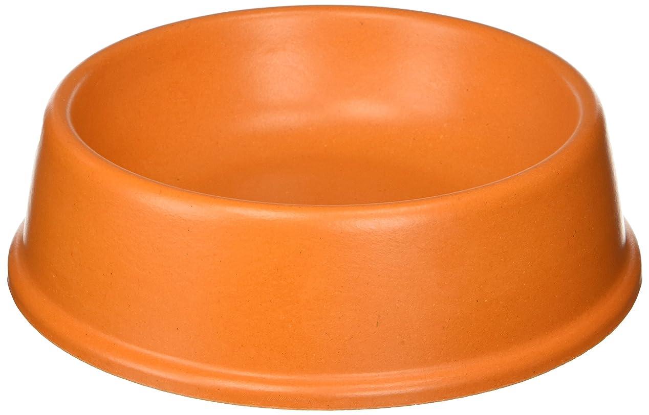 悪因子シマウマ校長The Green Pet Shop Bamboo Dog Bowl, Large, Orange by The Green Pet Shop