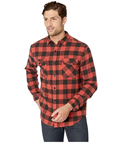 Burton Brighton Flannel (Tandori Heather Buffalo Plaid) Men