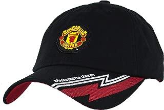 Rhinox Manchester United Hat Cap Adjustable Group Cap MUFC 100% Cotton Garment Wash