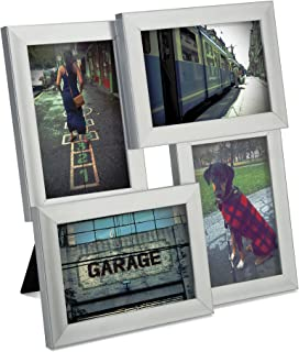 Umbra Pane, Multi 4x6 Picture Frame Collage for Desktop Nickel
