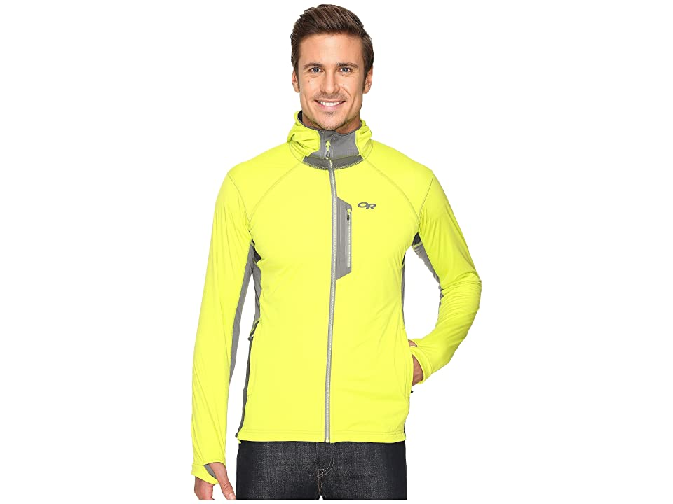 Outdoor Research Centrifuge Hoodie (Lemongrass/Pewter) Men