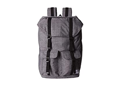 Herschel Supply Co. Buckingham (Raven Crosshatch) Backpack Bags