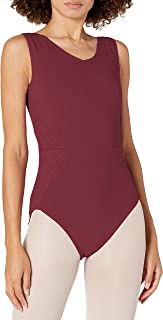 Danskin Women's Quilted Side Tank Leotard