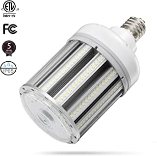 80W LED Corn Light Bulb ,E39 mogul Base corn led Bulbs.5000K AC100-277V,250W Metal Halide HID HPS CFL LED Replacement for Street Garage GYM Warehouse parking lot Workshop Low High Bay light bulb