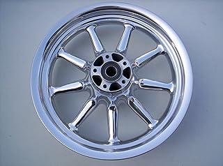 Harley 9-Spoke Front Wheel Mirror Polished 2000-08 16x3