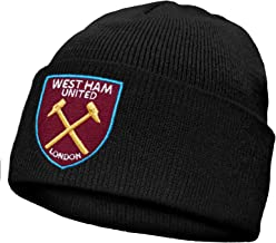 West Ham United Football Club Official Soccer Gift Knitted Bronx Beanie Hat