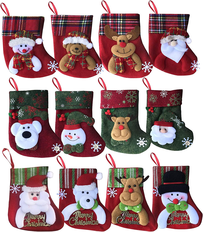 MOHOW Christmas Stockings 6