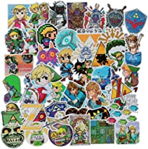 The Legend of Zelda Stickers Laptop Stickers Waterproof Skateboard Snowboard Car Bicycle Luggage Decal 47pcs Pack (The Legend of Zelda)