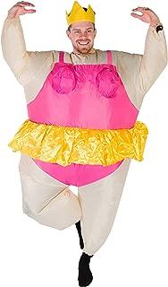 Bodysocks Adult Inflatable Ballerina Fancy Dress Costume