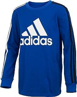 Boys' Long Sleeve Cotton Jersey T-Shirt Tee