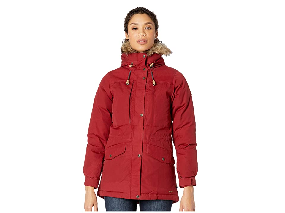 Fjallraven Singi Down Jacket (Red Oak) Women