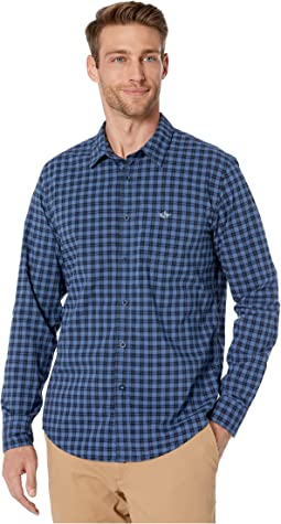 Giordano Blue Collar X Plaid