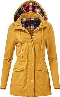 FashionMille Junior's Military Anorak Utility Hoodie Jacket