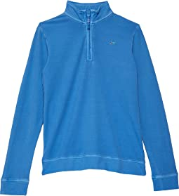 Garment-Dyed Saltwater 1/2 Zip (Toddler/Little Kids/Big Kids)