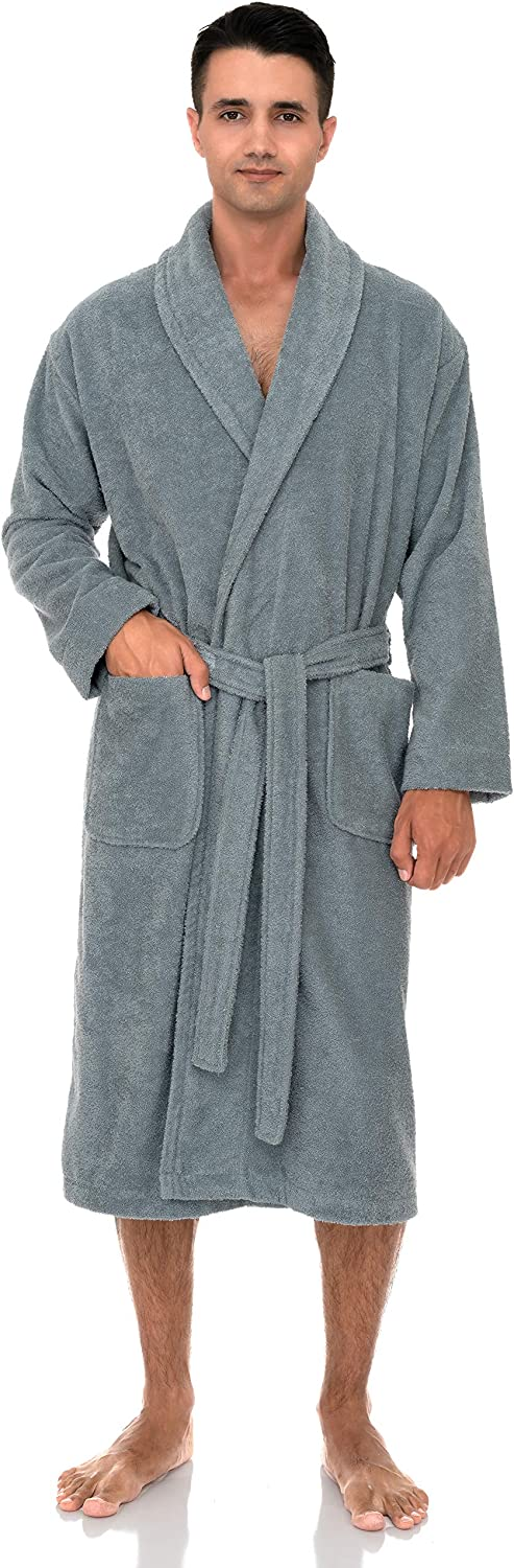 TowelSelections Men's Robe Turkish 100% quality warranty Cotton Bath Direct store Shawl Terry