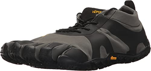 Vibram Men's V-Alpha gris negro Hiking zapatos, 12.5-13 M D (48 EU 12.5-13 US)