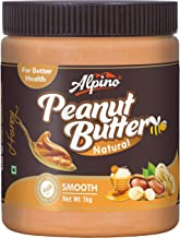 Alpino Natural Honey Peanut Butter Smooth 1kg
