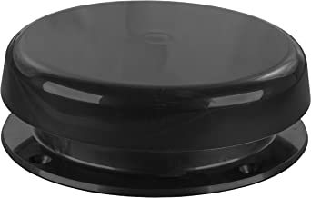JR Products 02-29115 Mushroom Style Plumbing Vent (Black)