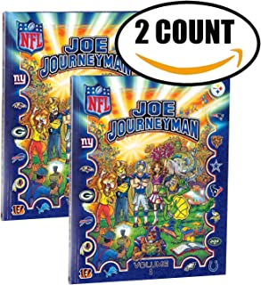 2 PACK Joe Journeyman NFL Sports Search & Find Adventure Activity Series Book Volume 1 Meet The Only Player To Play For All 32 NFL Football Teams! ALL AGES
