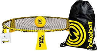 Spikeball Rookie Kit - 50% Larger Net and Ball - Played Outdoors, Indoors, Yard, Lawn, Beach - Designed for Kids 12 and Under