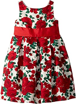 Floral Sash Dress (Toddler/Little Kids/Big Kids)