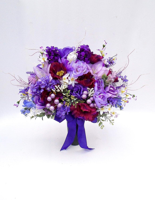 Beautiful Purple Spring Cone Over New York Mall item handling ☆ Cemetery