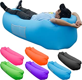 Skoloo Inflatable Lounger Air Sofa, Portable Water Proof...