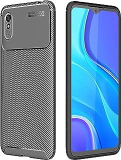 جراب TingYR لهاتف Xiaomi Redmi 9A، ممتص للصدمات من مادة TPU المرنة فائقة النحافة ومضاد للخدش، غطاء مطاطي مرن ممتاز، غطاء ل...