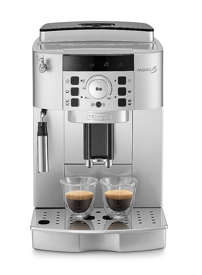 望むお金ゴム居眠りするデロンギ全自動コーヒーマシン コンパクト全自動エスプレッソマシン マグニフィカS ECAM22110SBHN 全自動コーヒーメーカー業務用