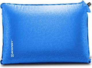 Bessport Inflatable Camping Pillow - Portable Travel Pillow, Compact, Compressible, Comfortable for Sleeping - Neck & Lumb...