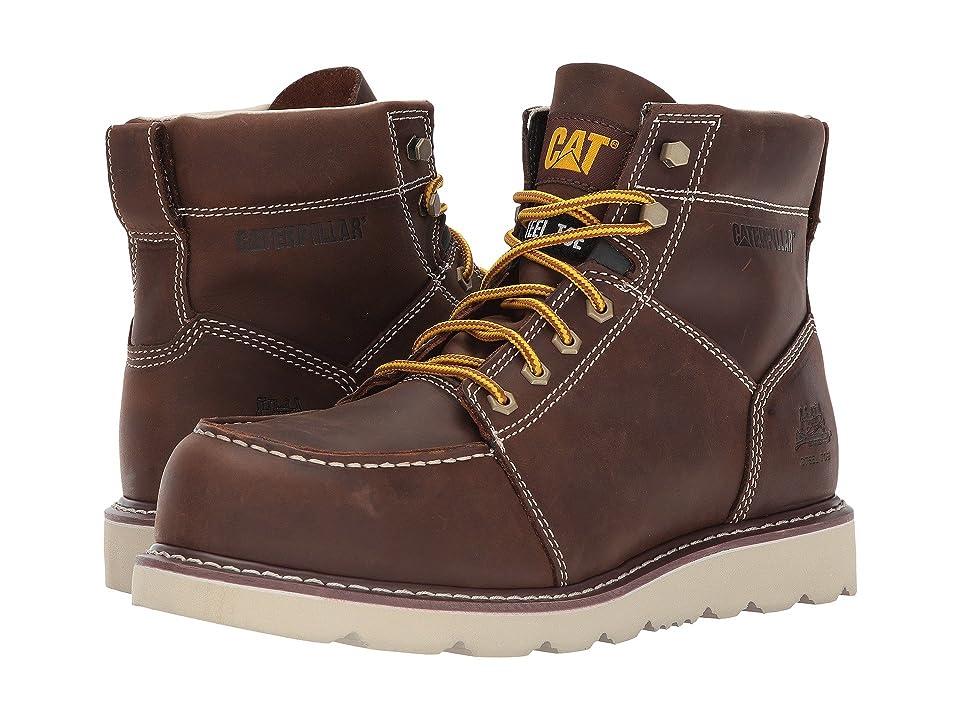Caterpillar Tradesman Steel Toe (Chocolate Brown) Men