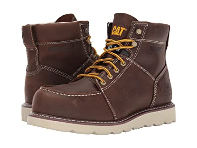 Caterpillar Tradesman Steel Toe (Chocolate Brown) Men
