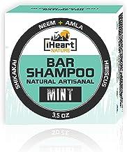 Organic Shampoo Bar (Packed with Neem Amla Shikakai Hibiscus) Made in USA (Natural Herbal Clarifying Surfactant Free Shamp...